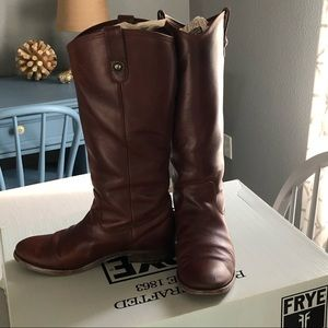 Frye Melissa Button Extended Boot